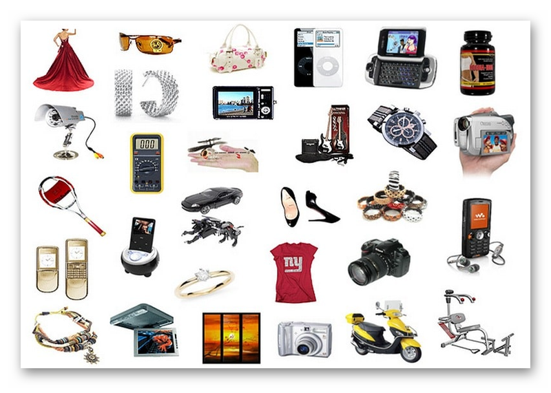 Категории товаров для продаи в ВК